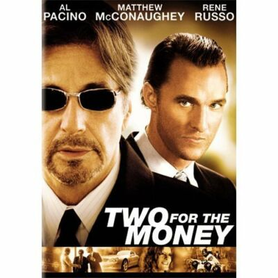 Two for the Money (DVD, 2006, Anamorphic Widescreen) Al Pacino, Rene Russo