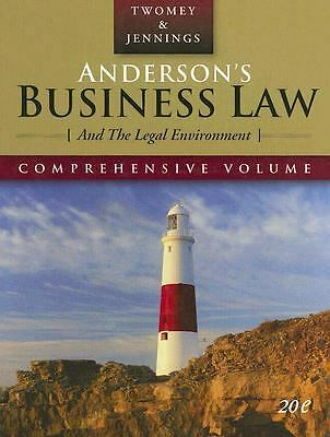 Anderson's Business Law and the Legal Environment by Marianne Moody Jennings...