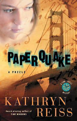 PaperQuake : A Puzzle by Kathryn Reiss (2002, Paperback)