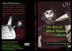 Doctor Creep Shock Theatre DVD Collection Horror Show