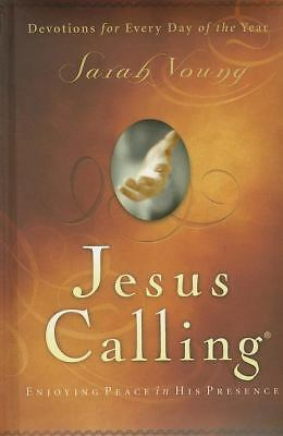 New Jesus Calling 3 Three Pack Sarah Young Hardcover Edition 365 Day Devotional
