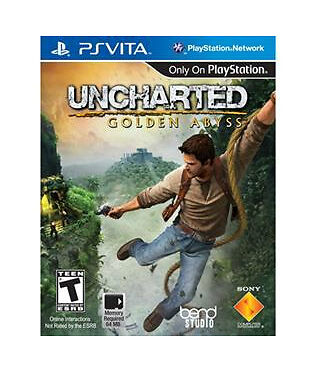 PS VITA PSVITA Uncharted: Golden Abyss Game BRAND NEW SEALED