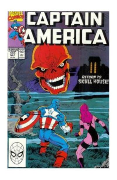 Captain America #370 (May 1990, Marvel)