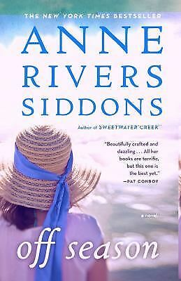 Off Season by Anne Rivers Siddons (2009, Paperback)