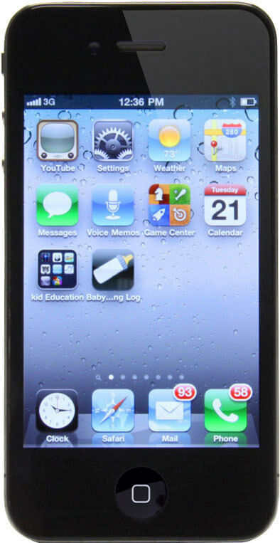 Apple iPhone 4 - 8GB - Black (Verizon) Smartphone