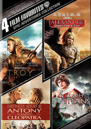 4 Film Favorites: Epic Adventures (Alexander: Director's Cut, Antony & Cleopatr