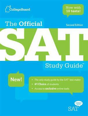 The Official SAT Study Guide by The College Board (2009, Paperback, Revised,...