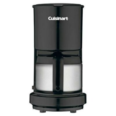 Cuisinart DCC-450 4 Cups Coffee Maker - Black