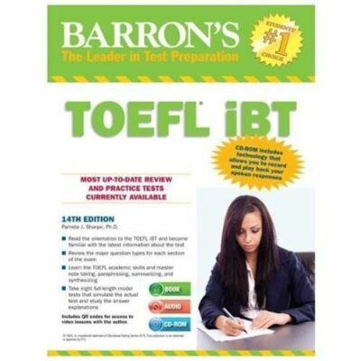 Barron's TOEFL IBT with Audio CDs and CD-ROM, 14th Edition by Pamela Sharpe...