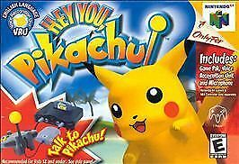 Hey You, Pikachu (Nintendo 64, 2000)