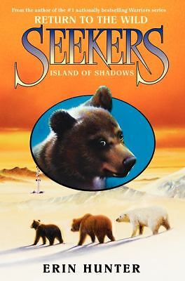 NEW SEEKERS Island of Shadows BOOK 7 by Erin Hunter 2012 HARDCOVER RET. $16.99