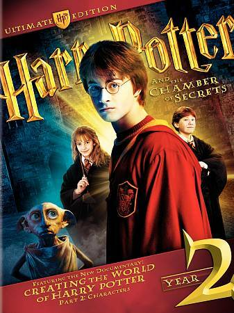Harry Potter and the Chamber of Secrets (DVD, 2009, 4-Disc Set, WS; Ultimate...