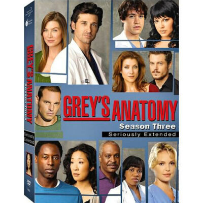 Grey's Anatomy: Season Three (DVD) BRAND NEW