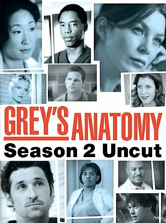 Grey's Anatomy: The Complete Second Season (DVD) BRAND NEW