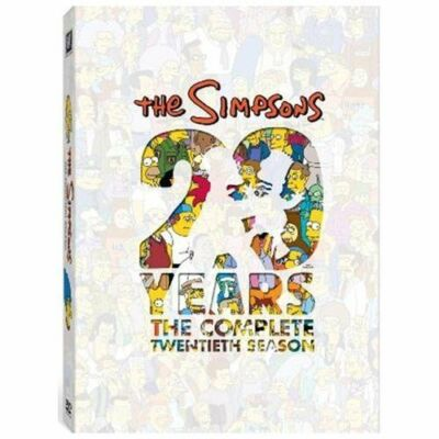 The Simpsons: The Complete Twentieth Season (DVD) BRAND NEW