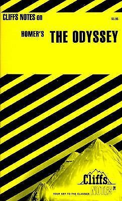 The Odyssey by Cliffs Notes Staff (1963, Paperback, Revised)