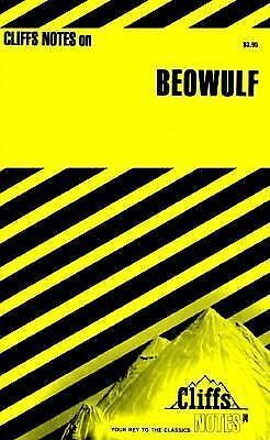 Cliffs Notes on Beowulf by Stanley P. Baldwin (1966, Paperback)