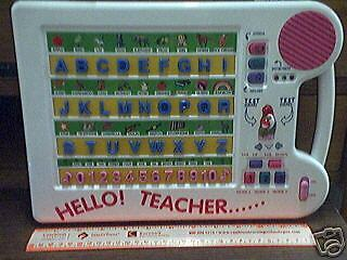 Hello Teacher - Communication Aid Toy with Braille For Blind Autistic Autism