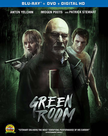 Green Room(BLU RAY+Digital HD) NEW with slip cover