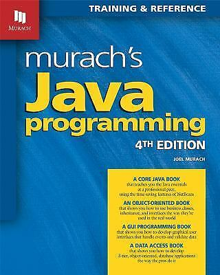 Brand New! Murach's Java Programming 4th Edition! Fast Ship!