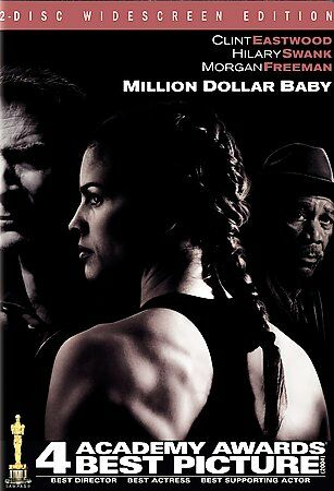 Million Dollar Baby (Two-Disc Widescreen Edition), Good DVD, Anthony Mackie, Bru