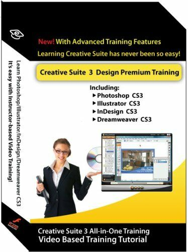 Learn Adobe Creative Suite 3 Tutorial CDs in Retail box