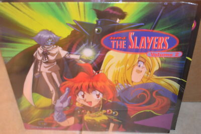 Slayers #2: Ep. 3-4 (1995) [NTSC/Bilingual] [SSLD-9652] Laserdisc