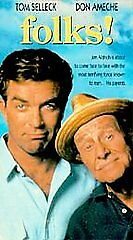 Folks [VHS] by Tom Selleck, Don Ameche, Anne Jackson, Christine Ebersole, Wendy
