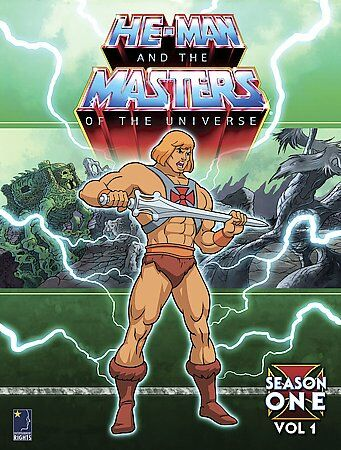 He-Man and the Masters of the Universe - Season 1: Volume 1 (DVD, 2005,...