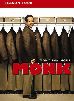 Monk - Season 4 (DVD, 2006, 4-Disc Set)