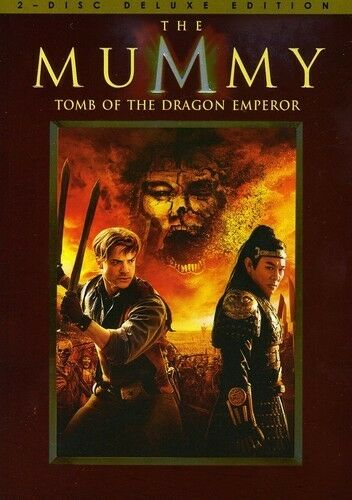 The Mummy: Tomb of the Dragon Emperor (DVD, 2008, 2-Disc Set, Deluxe Edition)