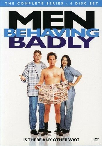 Men Behaving Badly - The Complete Series (DVD, 2007, 4-Disc Set)