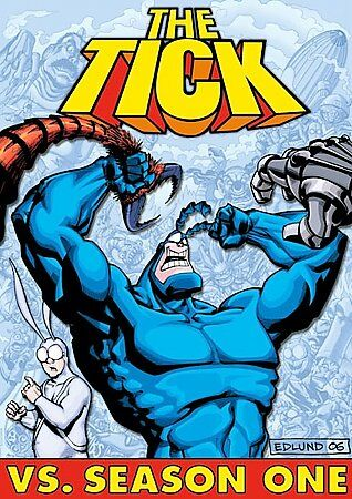 The Tick vs. Season 1 (DVD, 2006, 2-Disc Set)