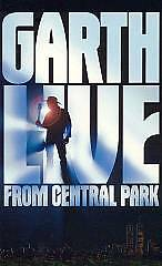 Garth Live from Central Park [VHS] by