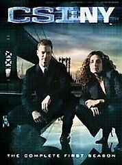 CSI: New York - The Complete First Season (DVD, 2005, 7-Disc Set)