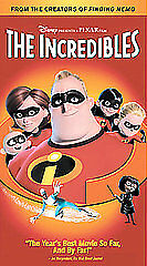 The Incredibles [VHS] by Craig T. Nelson, Samuel L. Jackson, Holly Hunter, Jaso