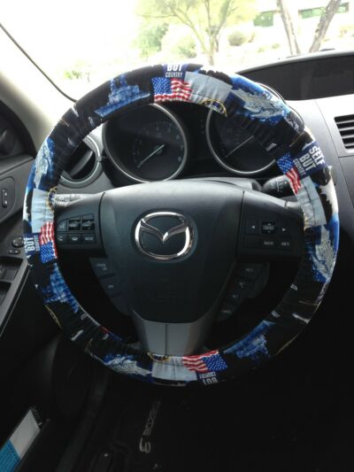 US Navy Military Steering Wheel Cover