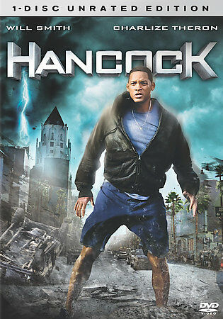 Hancock (DVD, 2008, Unrated Single Disc Version)