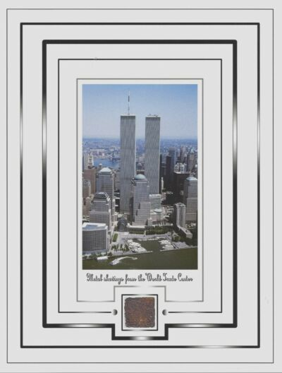TWIN TOWERS, World Trade Center, WTC.....METAL SHAVINGS.....New York City, NYC
