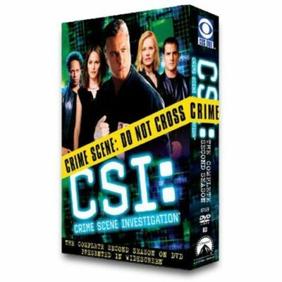 CSI: Crime Scene Investigation - The Complete Second Season (DVD, 2003,...