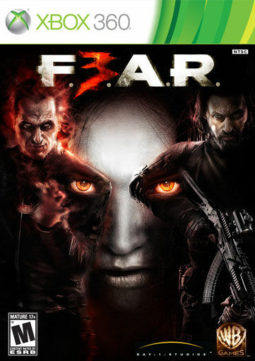 100% for CHARITY! FEAR 3 HORROR FPS SHOOTER GAME XBOX LIVE 360 COMPLETE