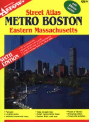 Metro Boston / Eastern MA Street Atlas (Metro Boston Eastern Masschusetts Street