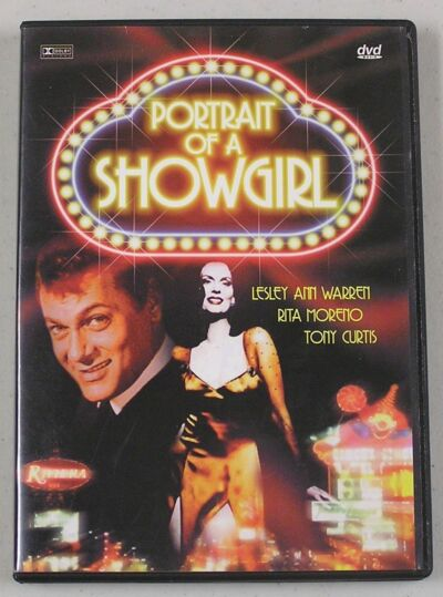 Portrait of a Showgirl - DVD  Tony Curtis, Lesley Ann Warren & Rita Moreno