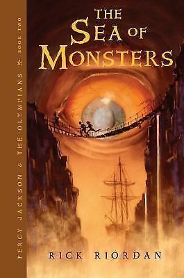 The Sea of Monsters Bk. 2 by Rick Riordan (2007, Paperback, Revised)