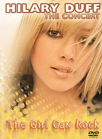 Hilary Duff - The Girl Can Rock (DVD, 2004)