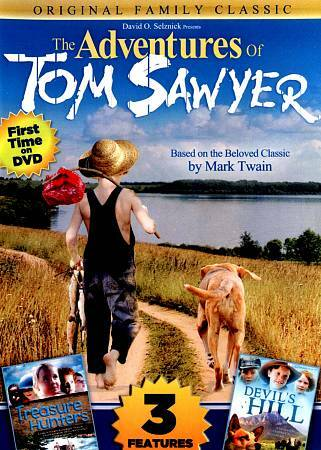The Adventures Of Tom Sawyer with Bonus Features by Walter Brennan, Caleb Ely,