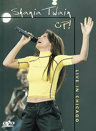 Shania Twain - Up!: Live In Chicago (DVD, 2003)
