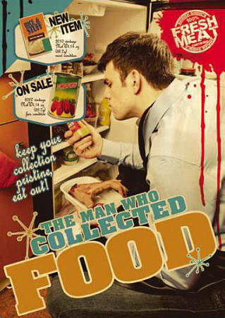 The Man Who Collected Food (DVD, 2011) Mike N Kelly, Gary J Wagner, Lila Miller