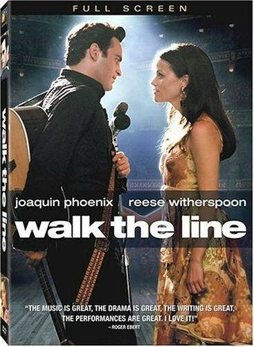 Walk the Line (DVD, 2006) Joaquin Phoenix, Reese Witherspoon