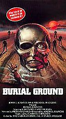 Burial Ground [VHS] by Karin Well, Gianluigi Chirizzi, Simone Mattioli, Antonel